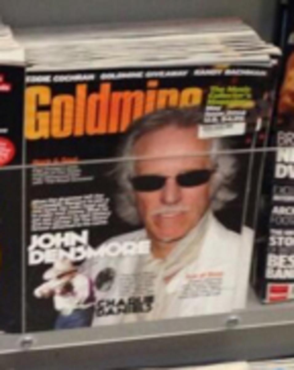 Goldmine newsstand record shop