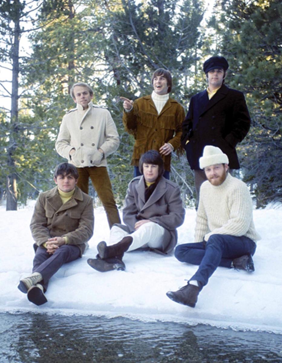 Six Beach Boys lakeside