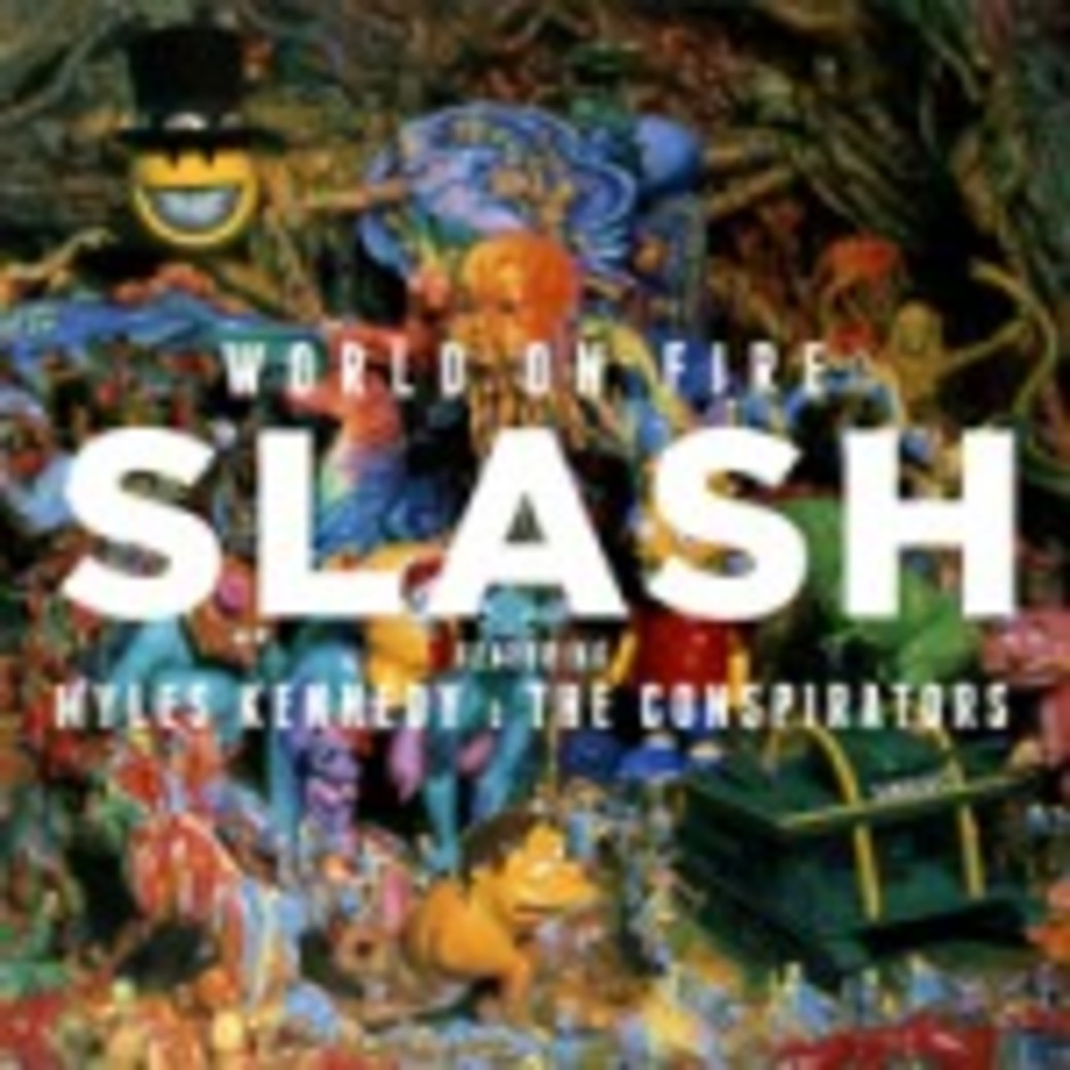 World on Fire by Slash featuring Myles Kennedy and The Conspirators