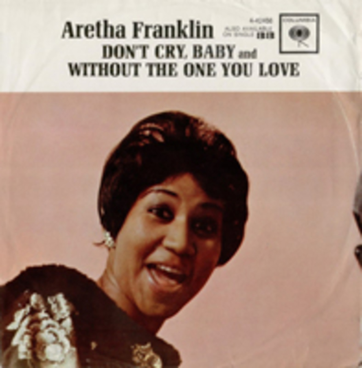 Aretha Frnaklin Don't Cry Baby Picture Sleeve