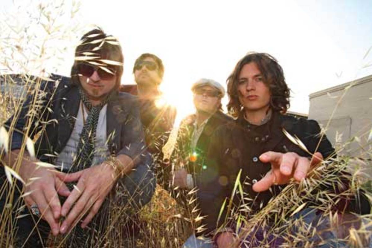 Rival Sons, L to R: Michael Miley, Scott Holiday, Robin Everhart and Jay Buchanan