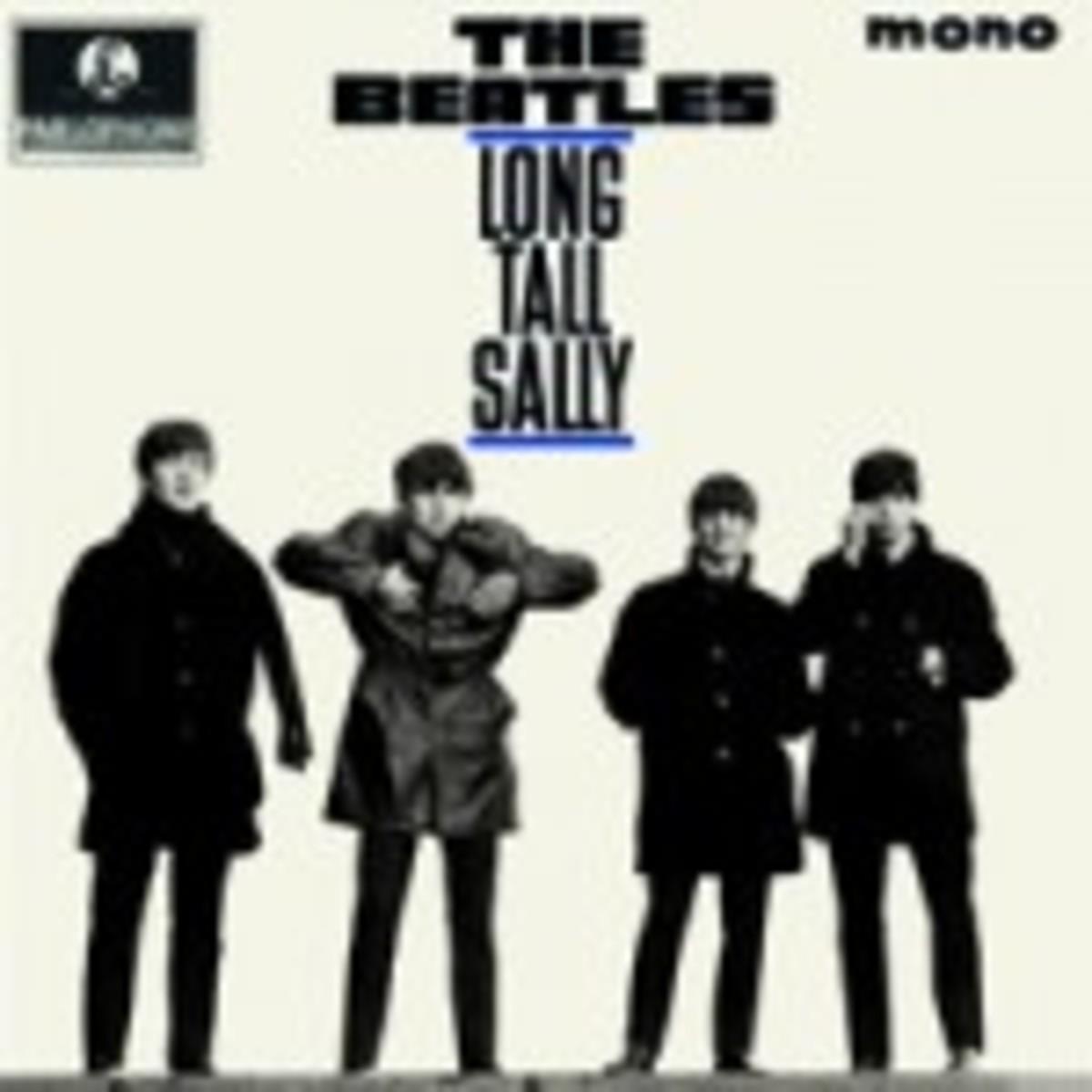 The Beatles Long Tall Sally mono vinyl