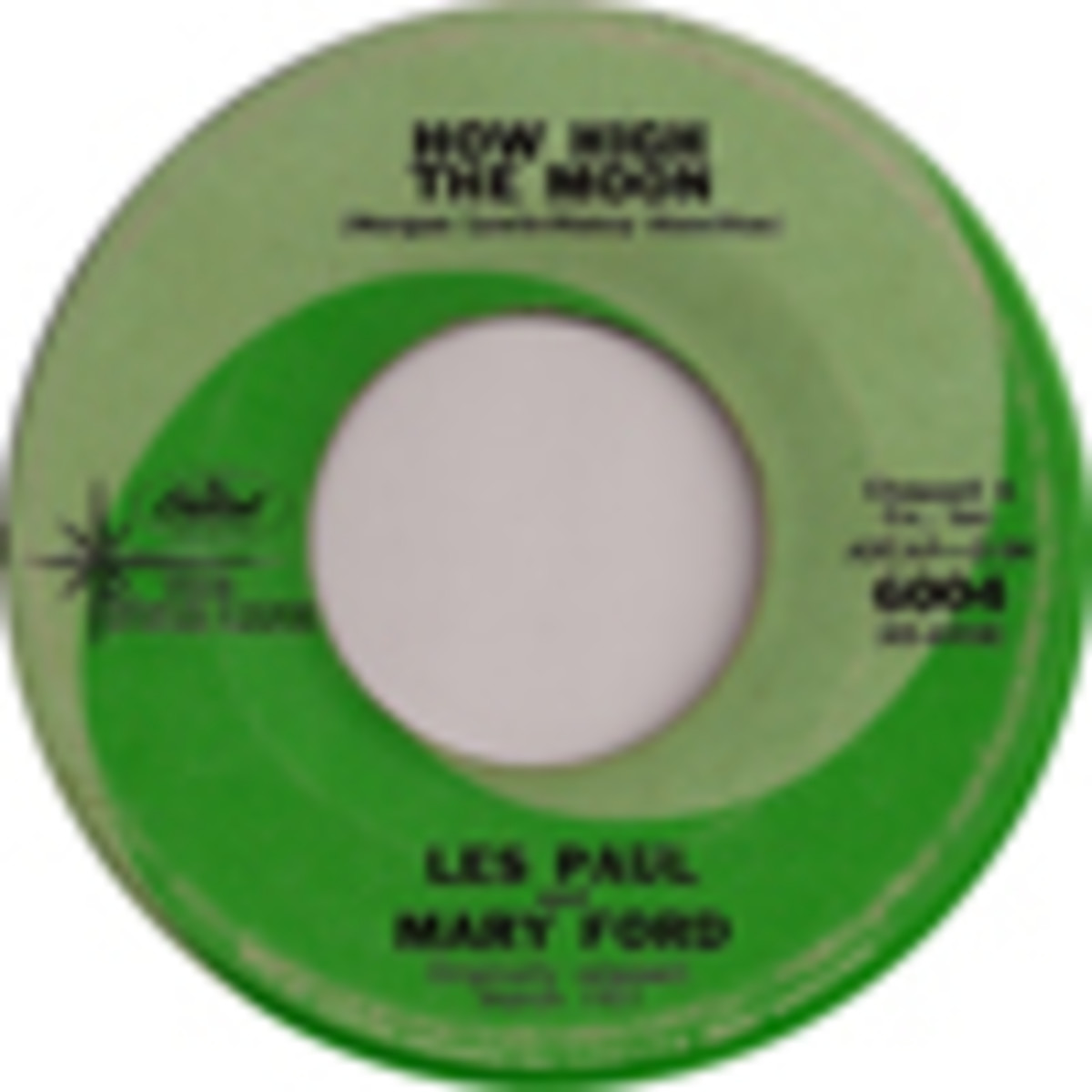 Les Paul and Mary Ford How High The Moon
