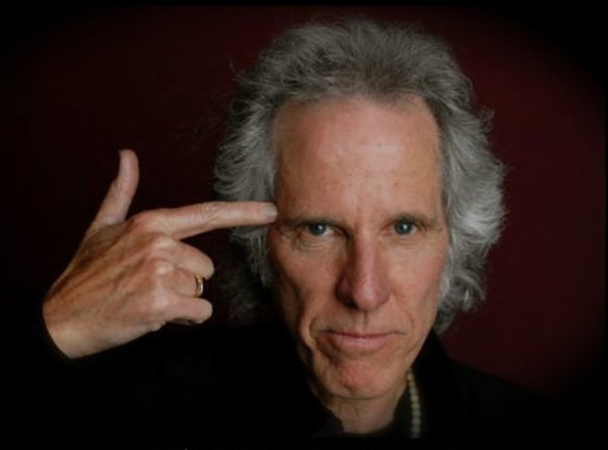"""We've checked the photos pretty closely, but we don't see the phrase """"Of The Doors"""" etched on John Densmore's forehead. It's more of a figurative tattoo — and a phrase that has been added after his name like a title of """"esquire"""" or """"junior."""" Although Densmore once found it to be irritating, he has come to terms with that tag and is even proud of it. Probably doesn't hurt that The Doors left behind an impressive musical legacy. Photo by Scott Mitchell."""