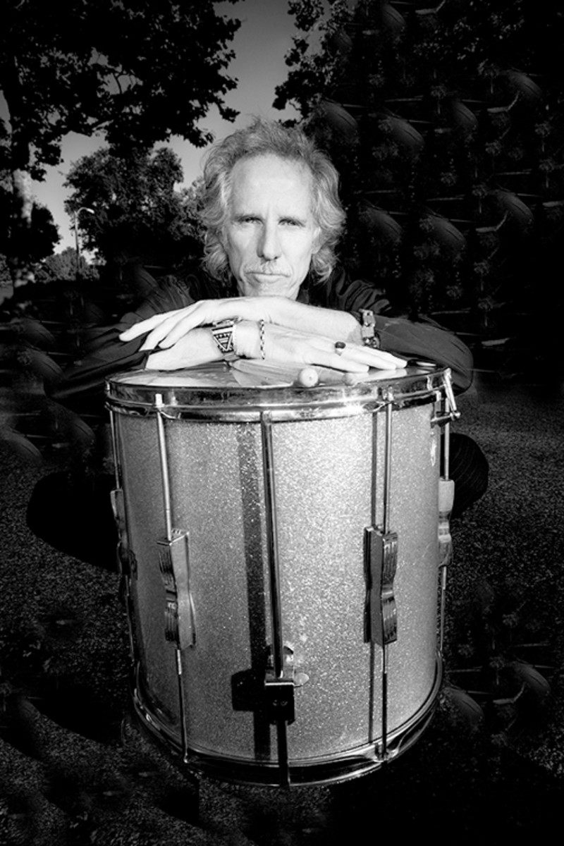 In addition to his drum work, John Densmore has authored a pair of books about The Doors and has become very involved in Record Store Day events each April. Photo courtesy johndensmore.com