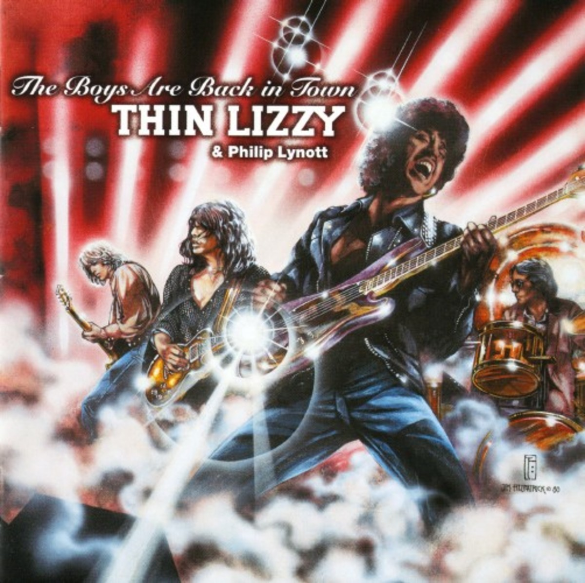 Thin Lizzy & Philip Lynott - The Boys Are Back In Town - Front[1]