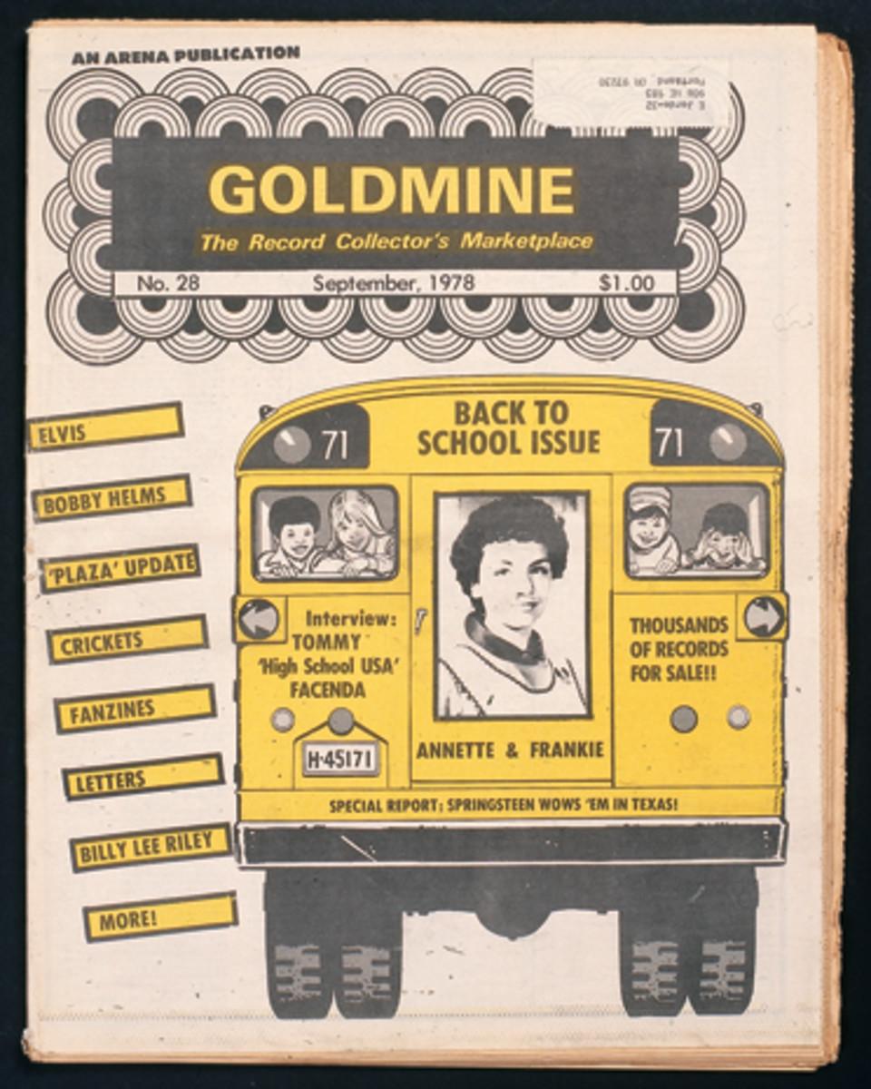Goldmine School Bus