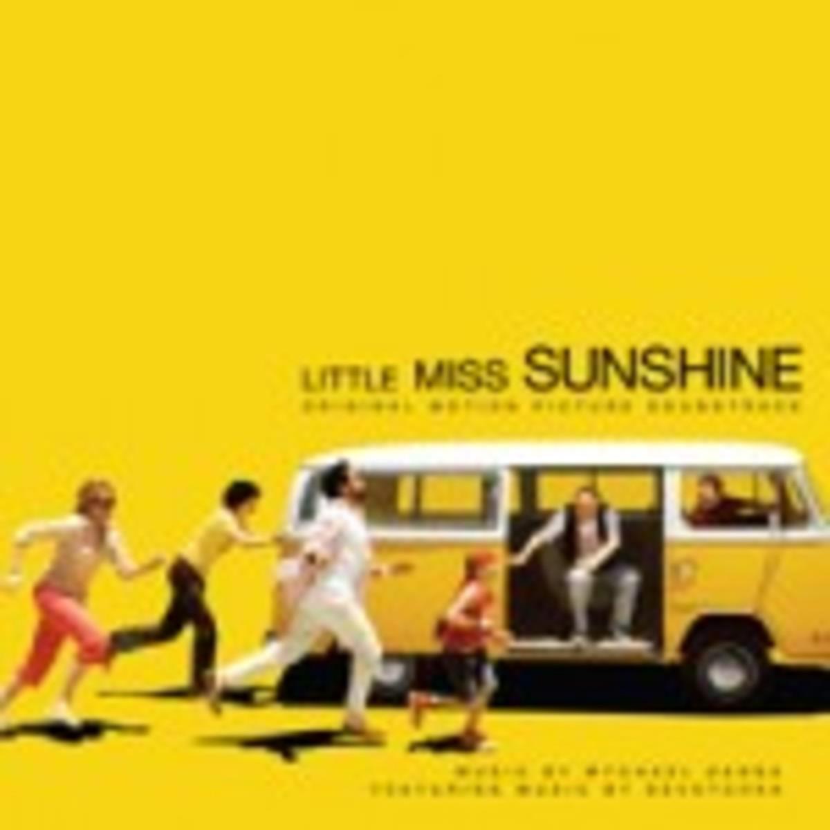 Little Miss Sunshine soundtrack on vinyl
