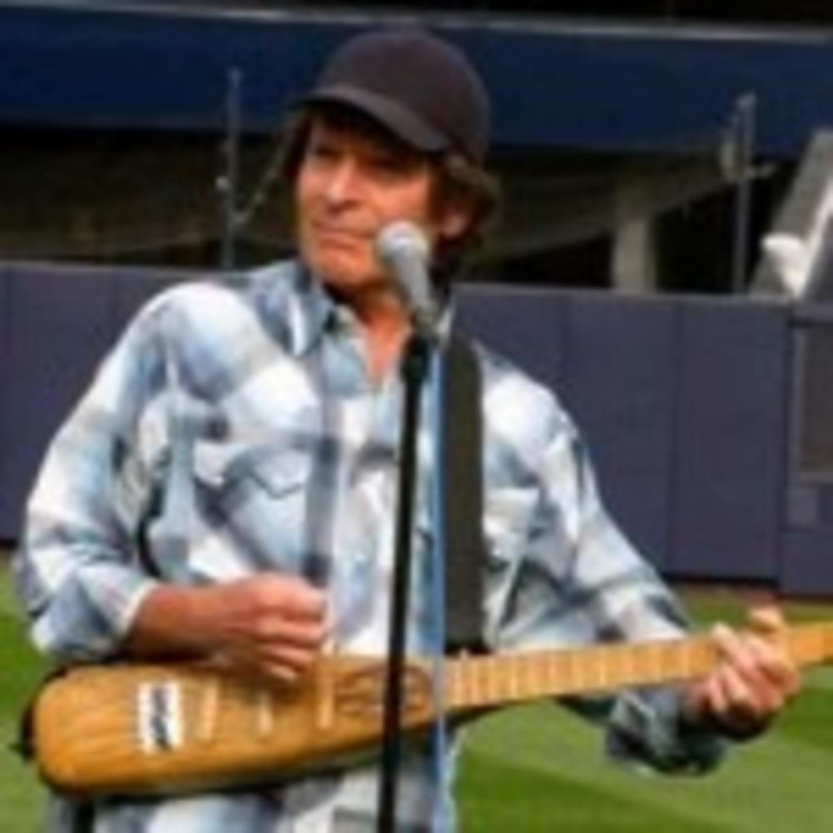"John Fogerty plays ""Slugger."" (Photo by Julie Fogerty)"