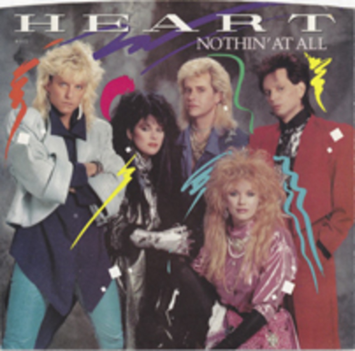 Heart Nothin At All Picture Sleeve