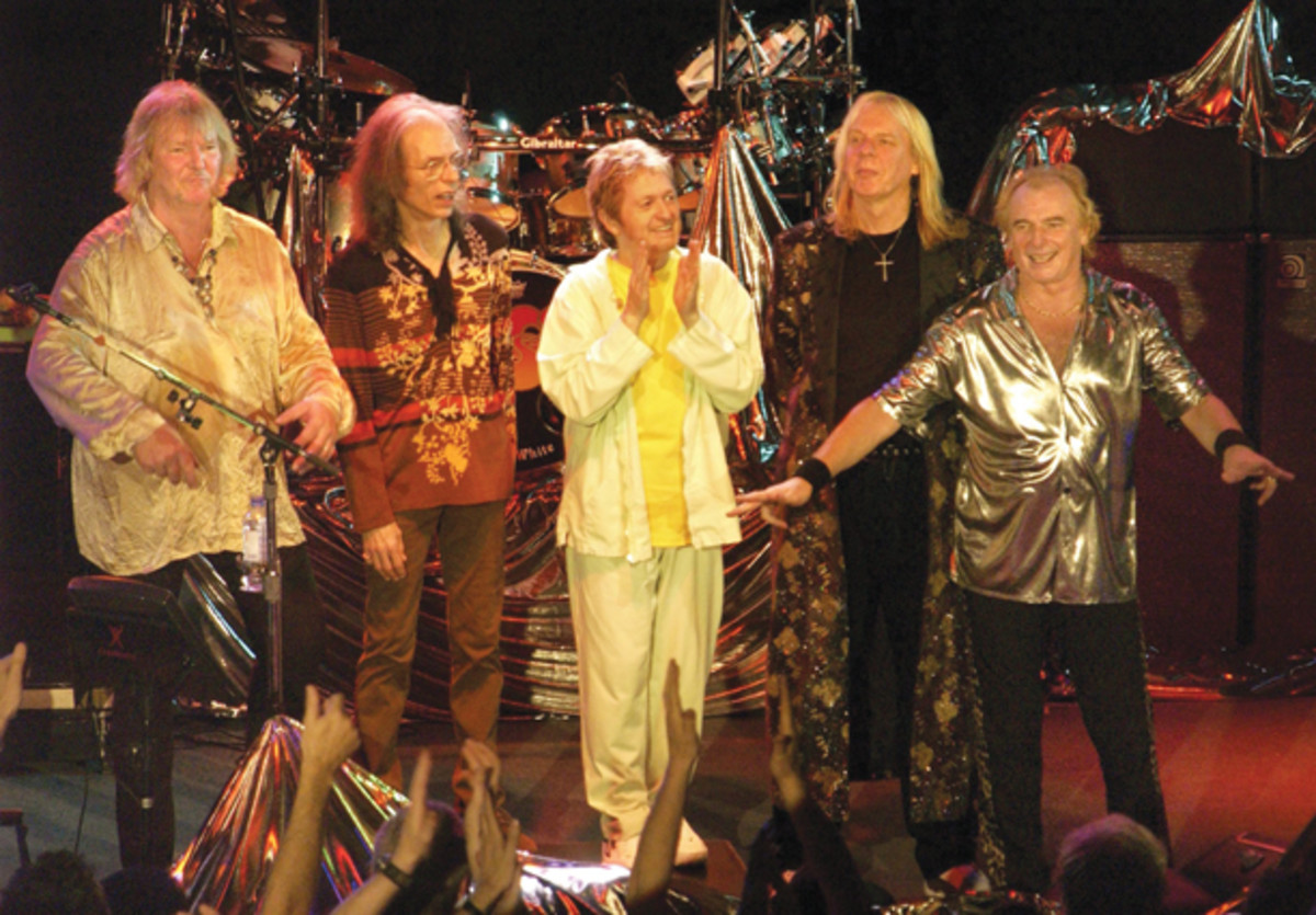 Yes circa 2002 publicity photo with Jon Anderson