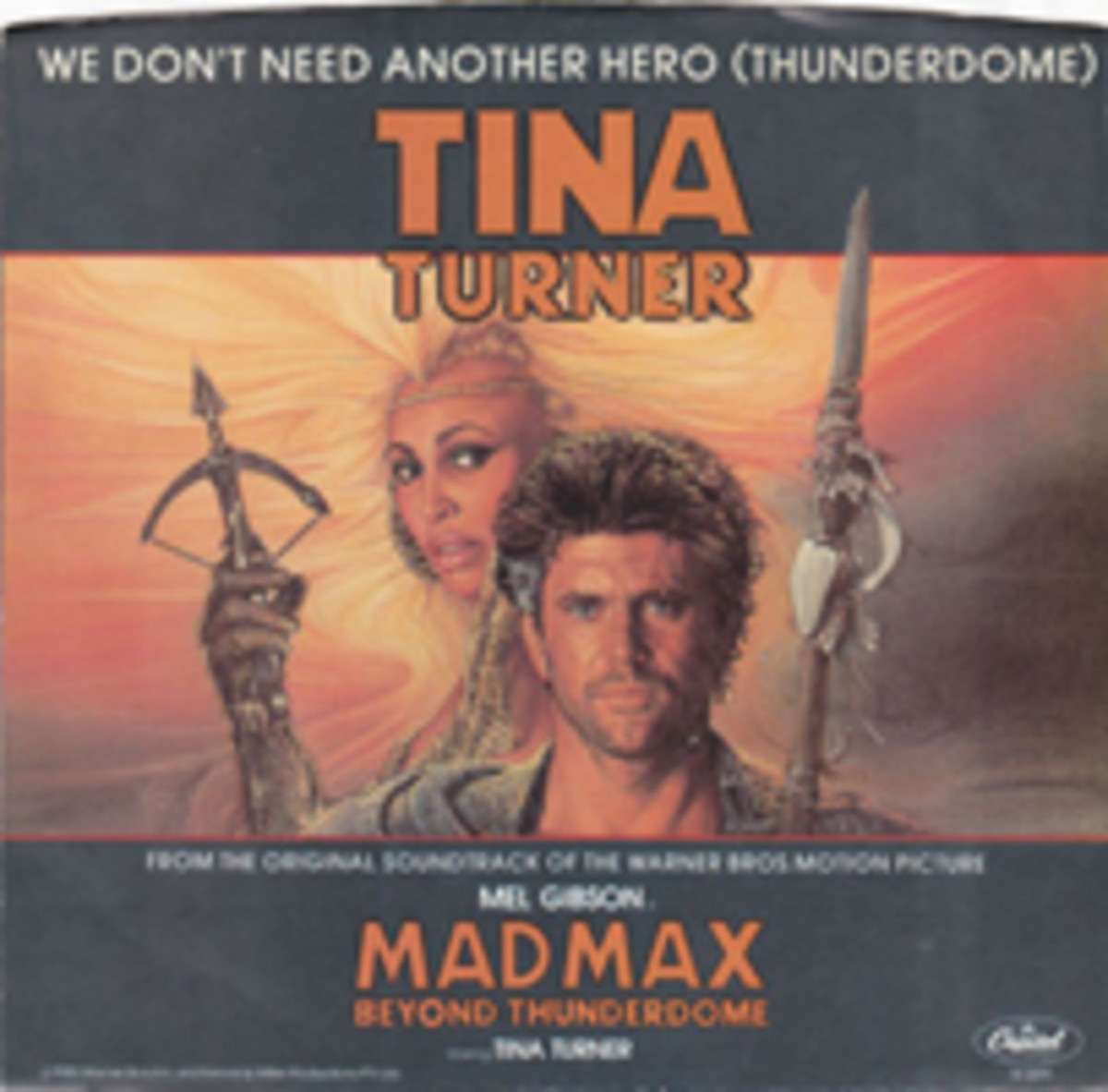 Tina Turner We Don't Need Another Hero picture sleeve