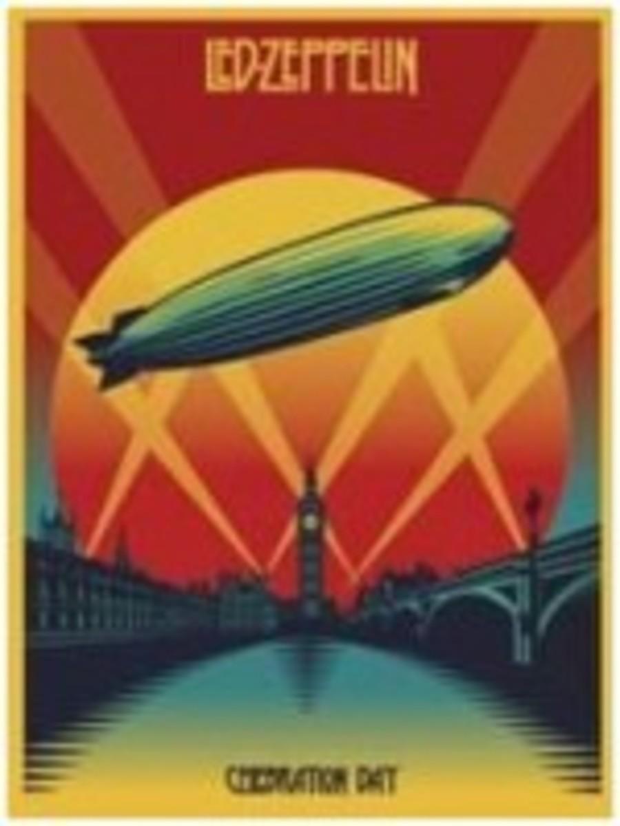 Led Zeppelin_Celebration Day poster