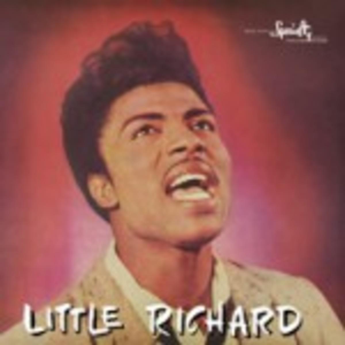 Little Richard album on vinyl