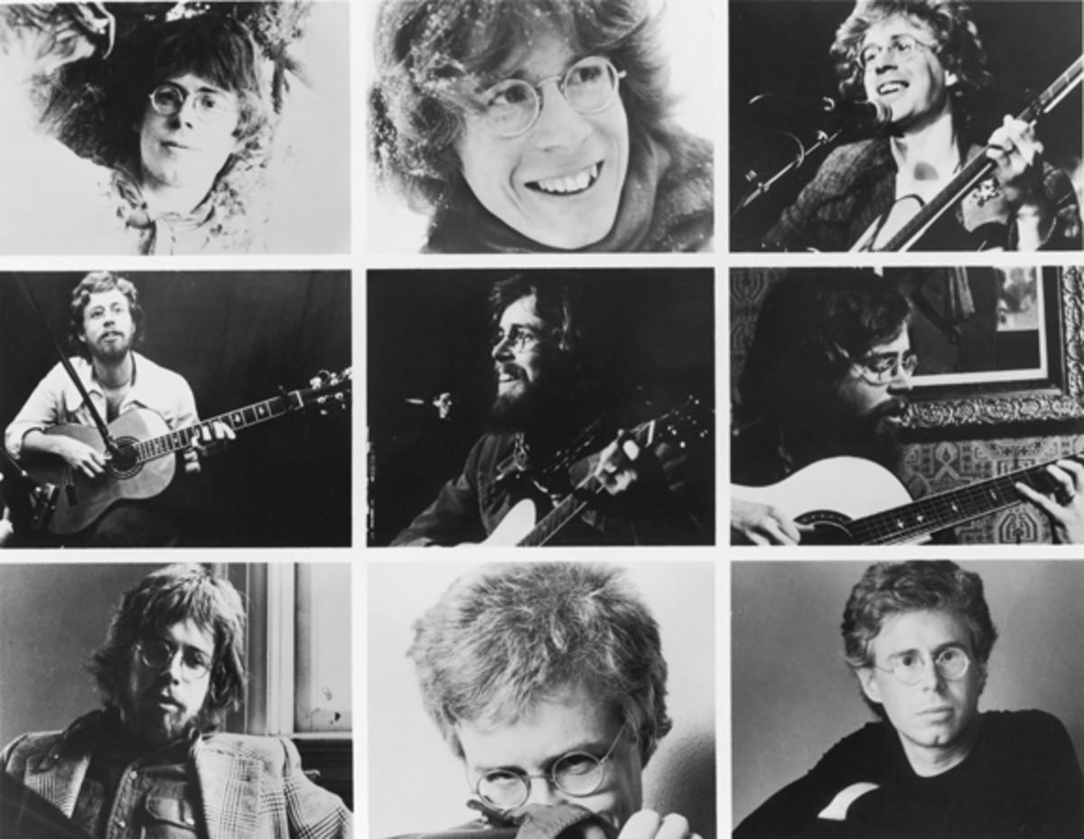 Bruce Cockburn retrospective collage