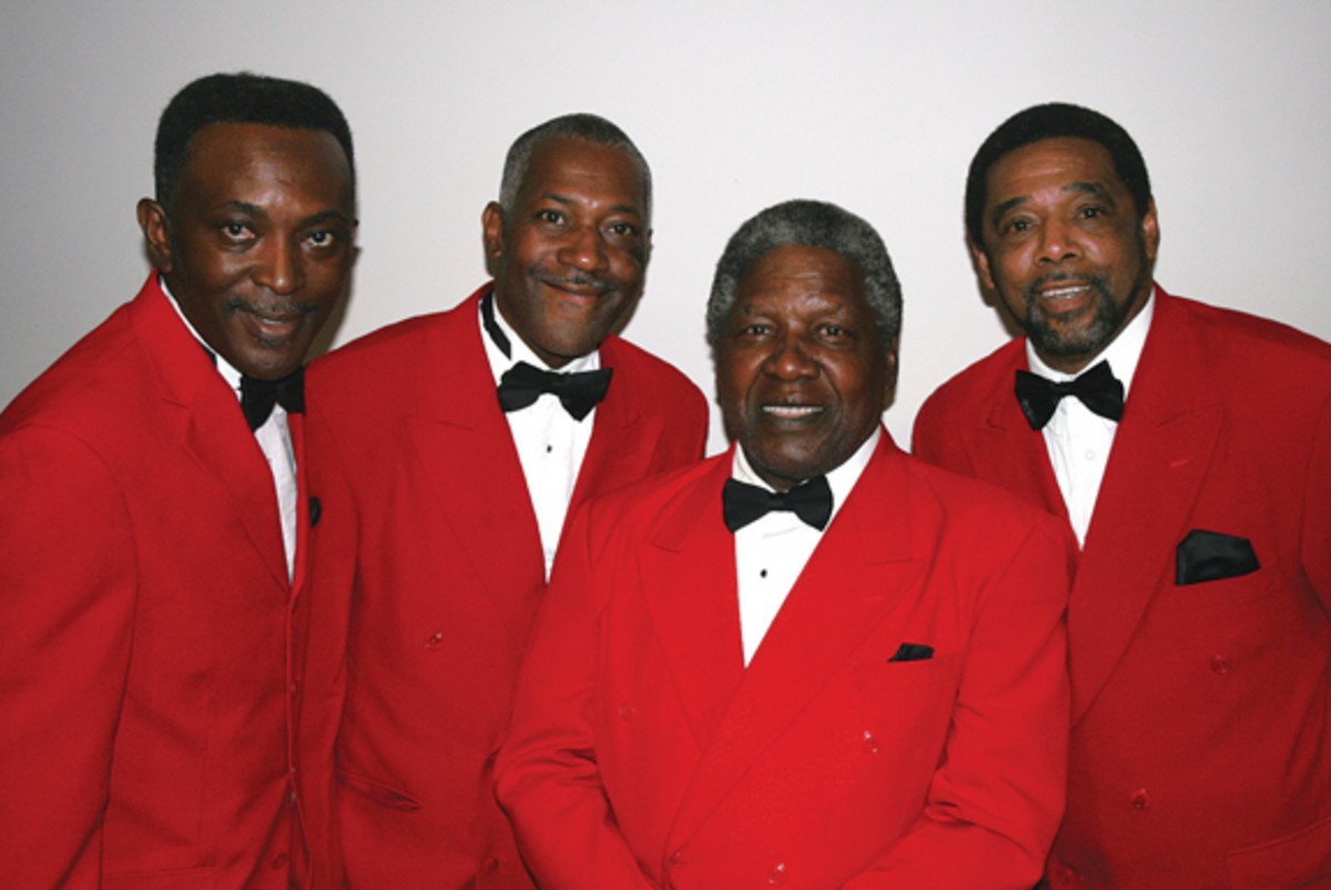 The Drifters in May 2011