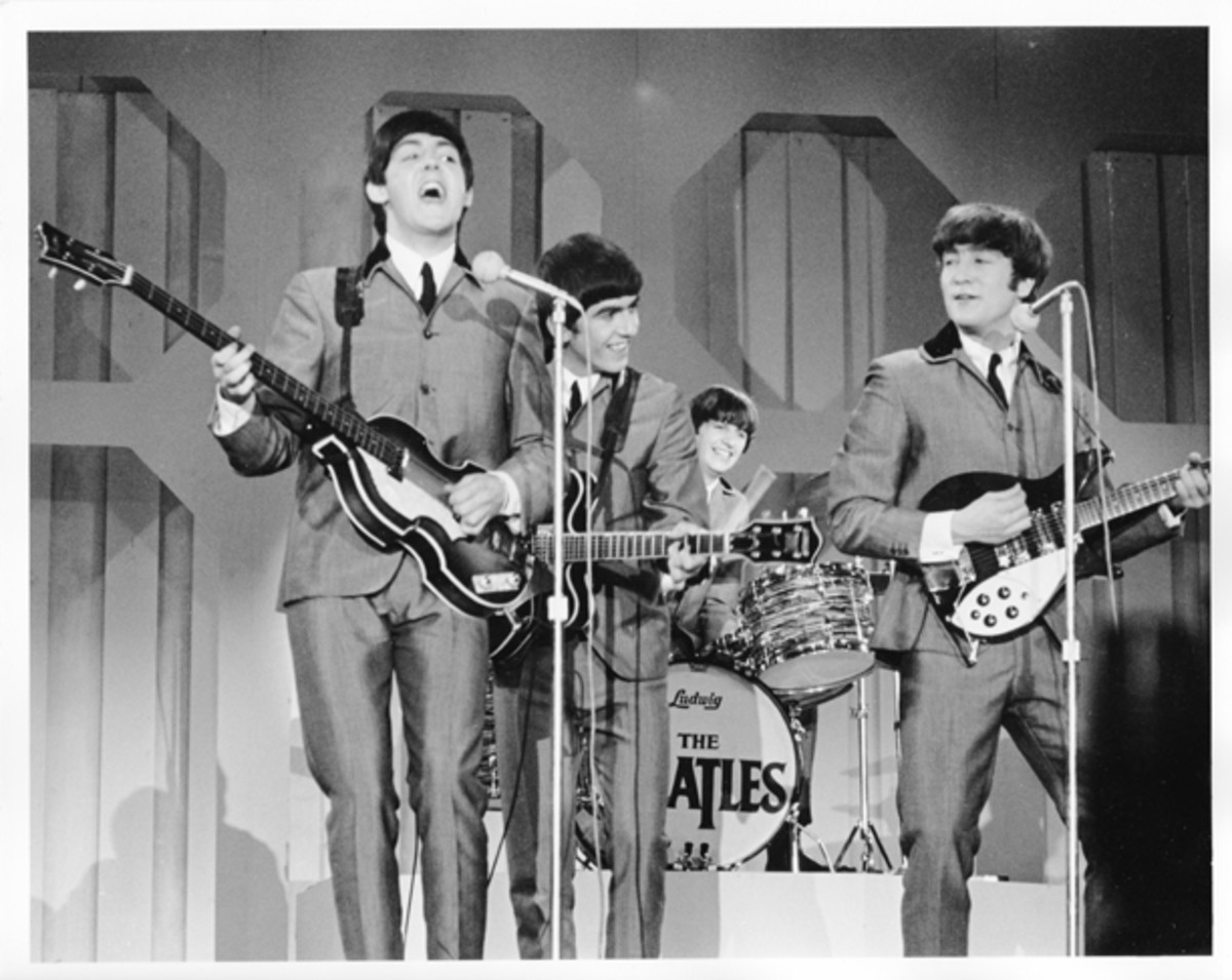 Beatles Ed Sullivan performance