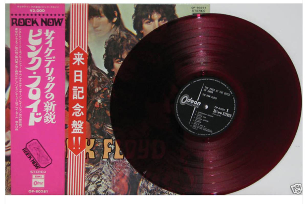 Pink Floyd red Vinyl