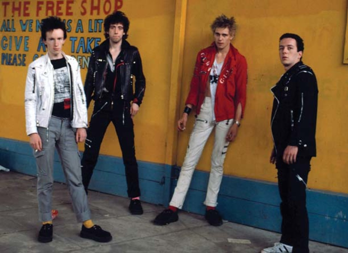 The Clash publicity photo copyright Adrian Boot
