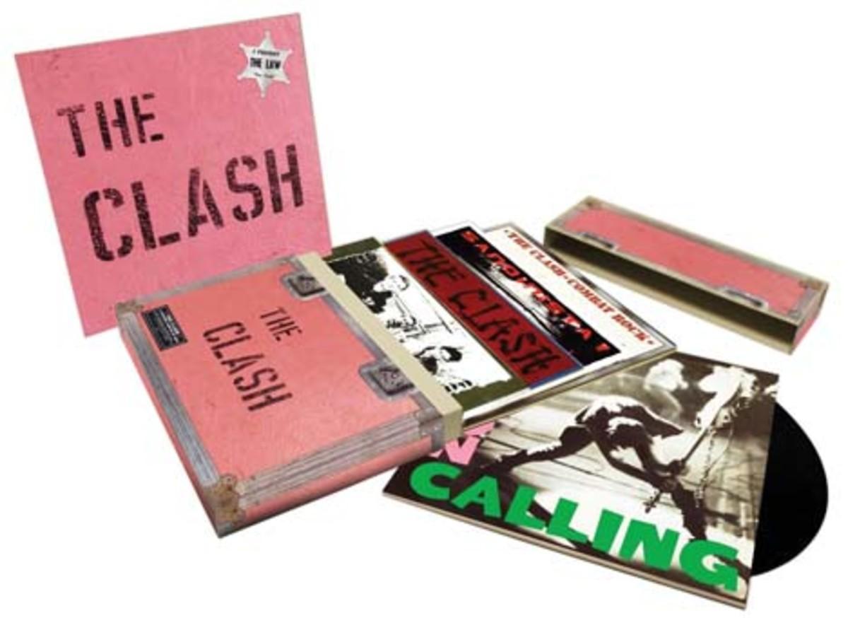 The Clash Five Album set