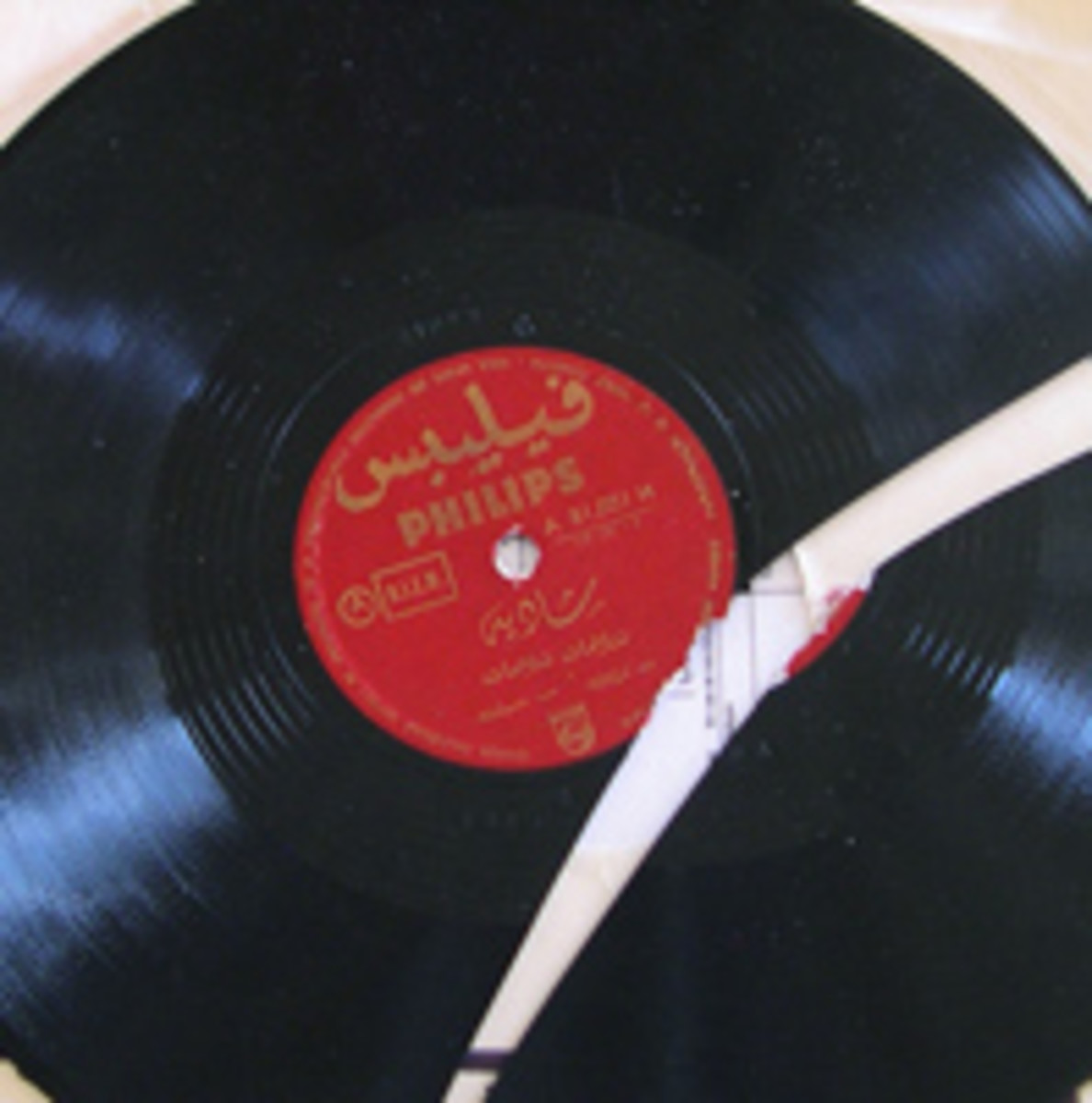 broken 78 rpm record