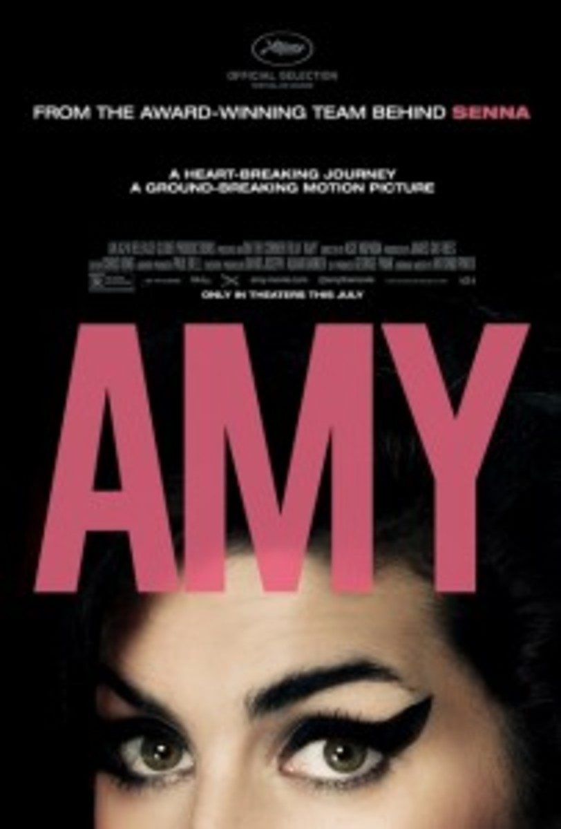 Director Asif Kapadia's fantastic documentary Amy tells the story of the life, career, and tragic death of the British singer Amy Winehouse.