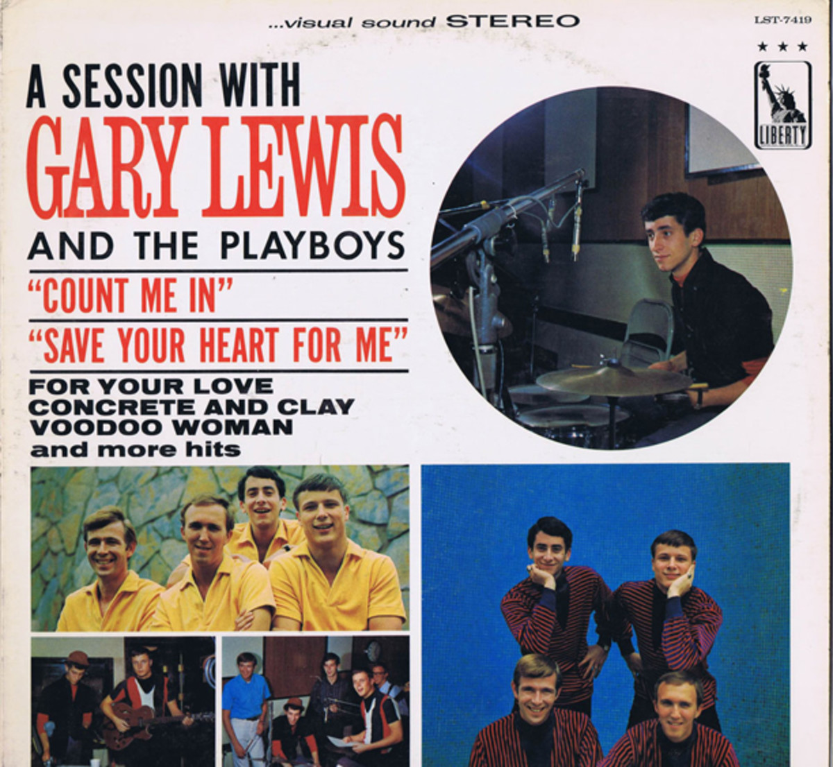 Gary Lewis and The Playboys Liberty LST-7419
