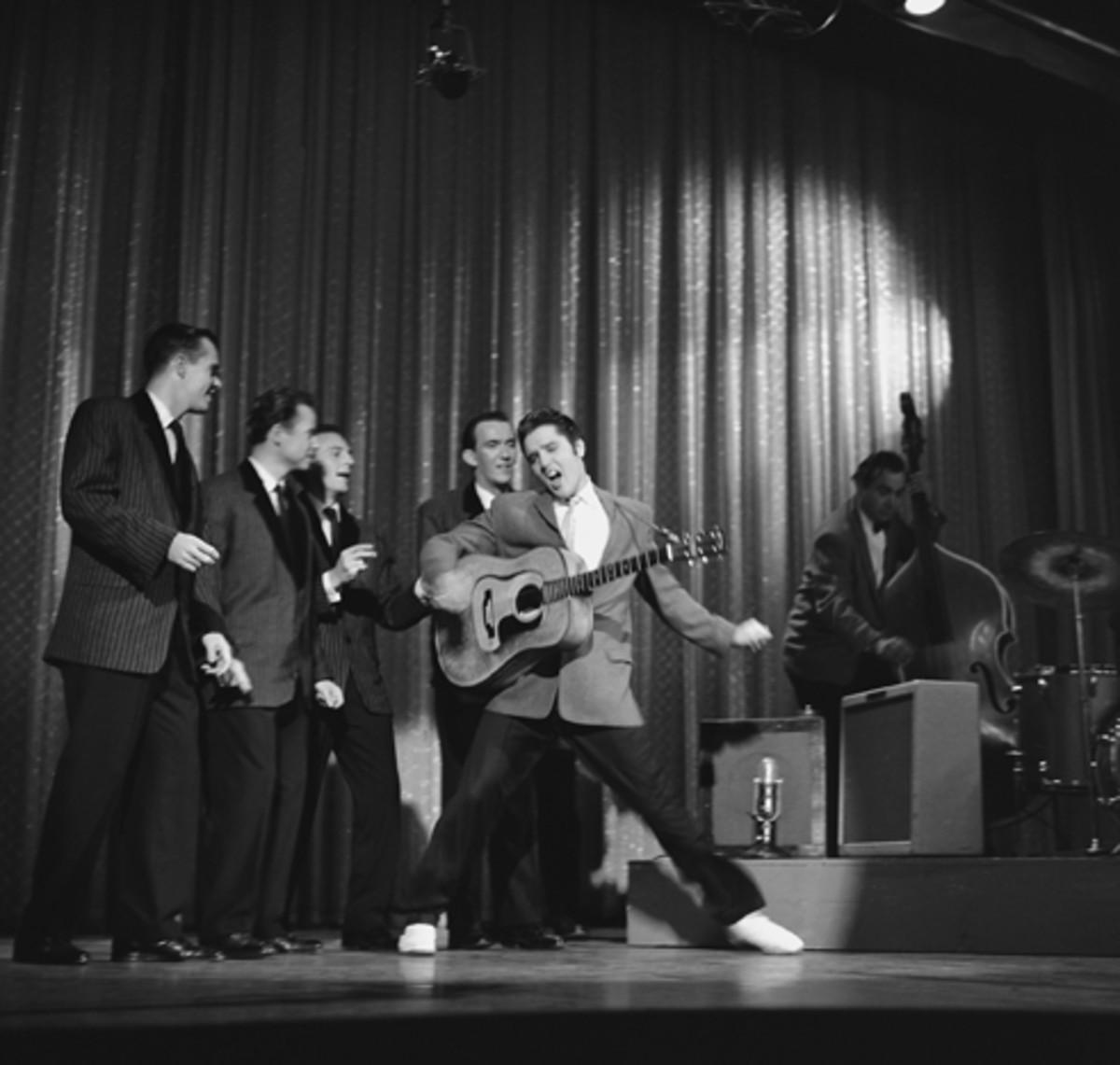 Elvis Presley With The Jordanaires 1956