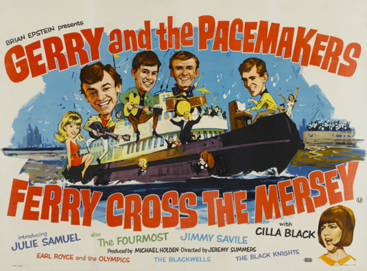 Gerry and The Pacemakers Ferry Cross The Mersey movie poster