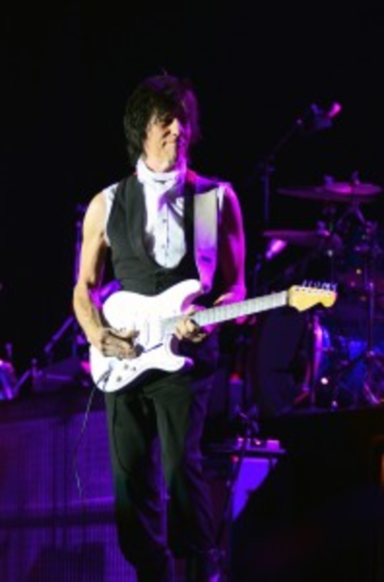Jeff Beck (Photo by Chris M. Junior)