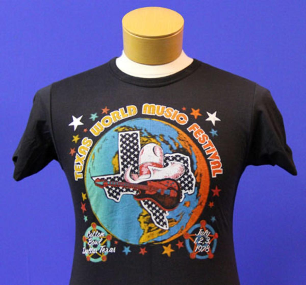 vintage concert t-shirt backstage auctions