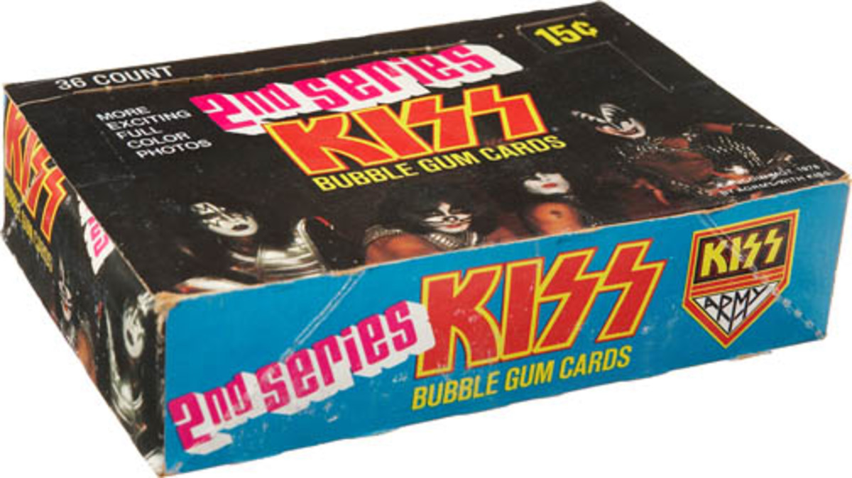 Donruss KISS bubble gum cards