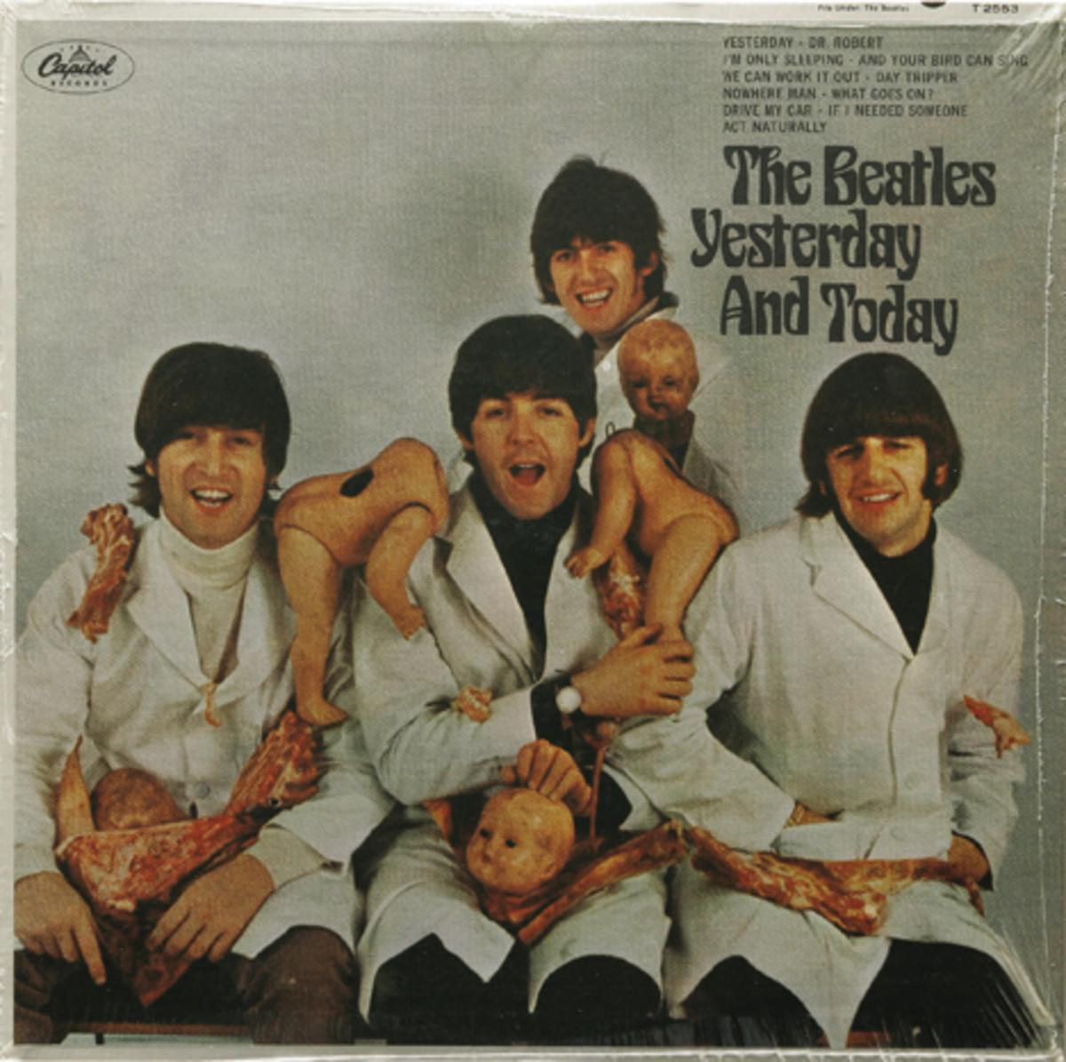 Livingston Beatles Butcher Cover