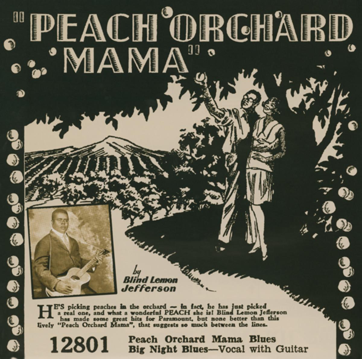 Blind Lemon Jefferson Peach Orchard Mama