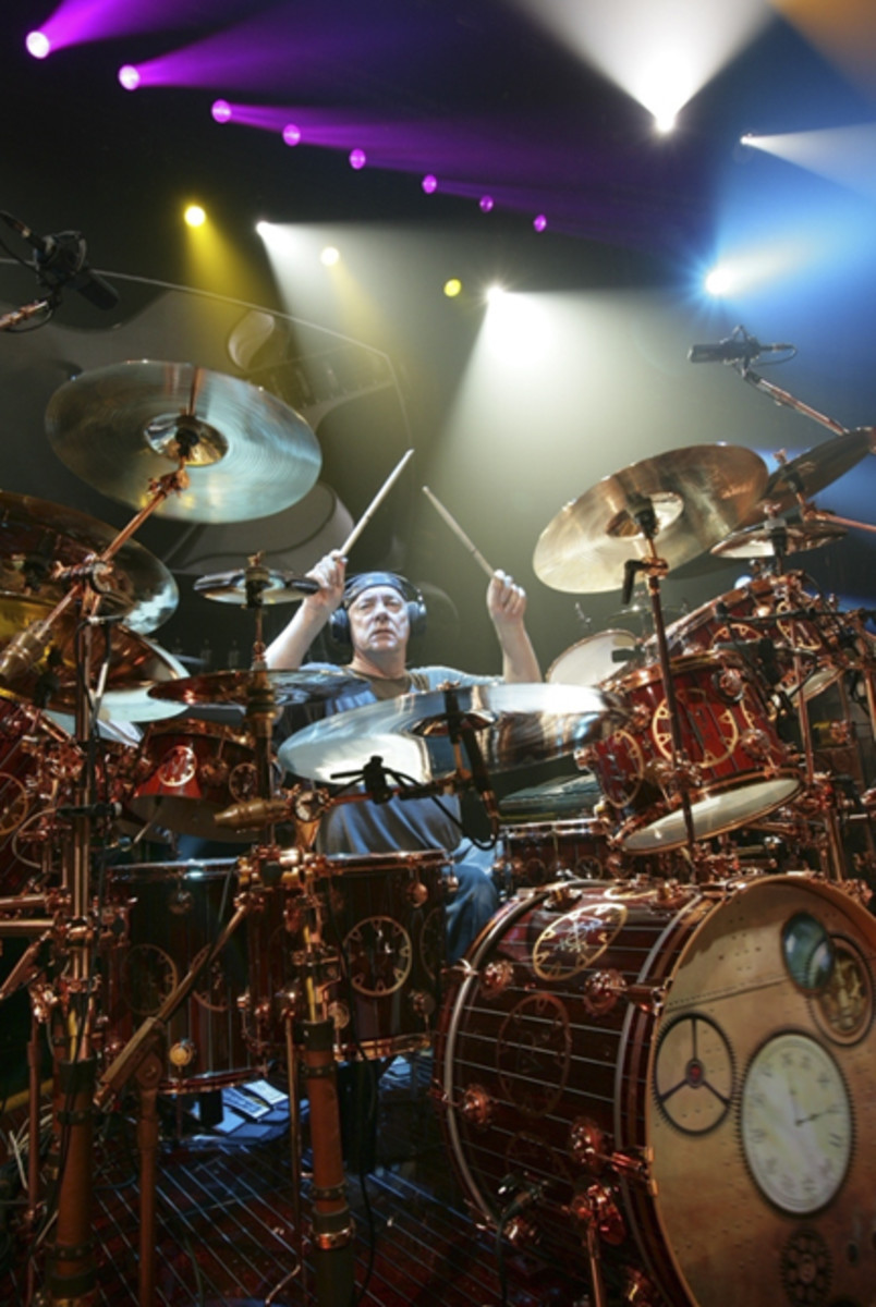Neil Peart by Andrew MacNaughtan
