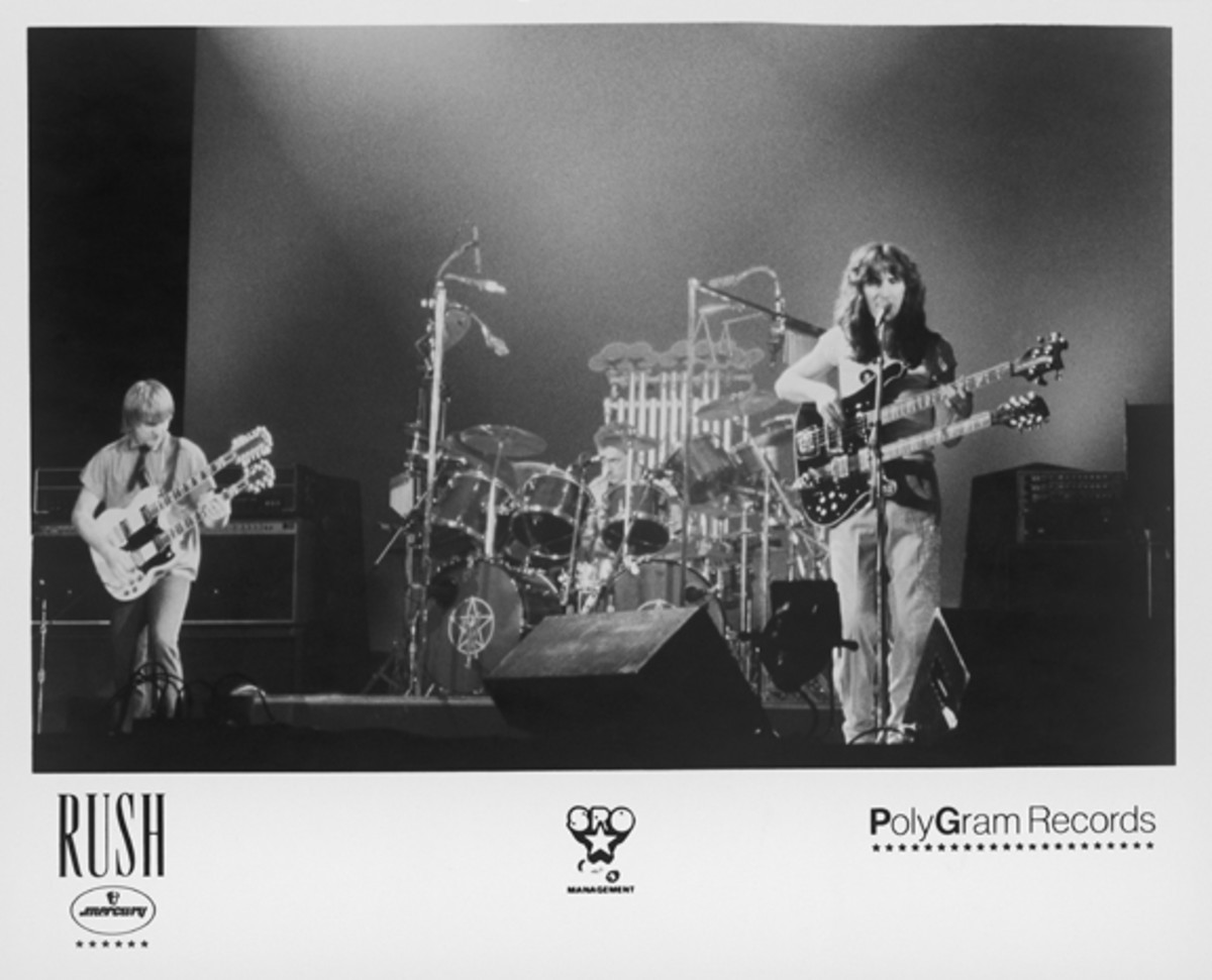 Rush Alex Lifeson Neil Peart Geddy Lee