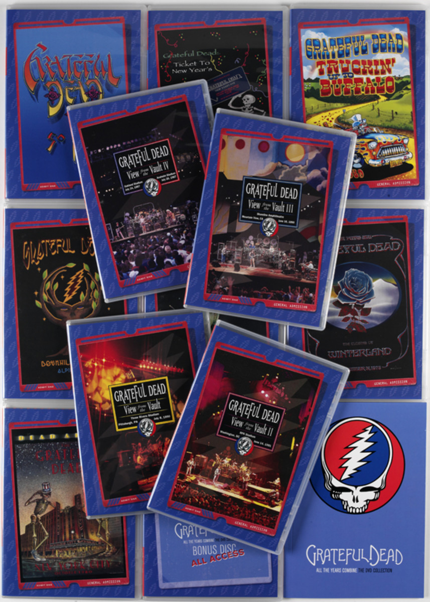 Cover art for The Grateful Dead All The Years Combine: The DVD Collection