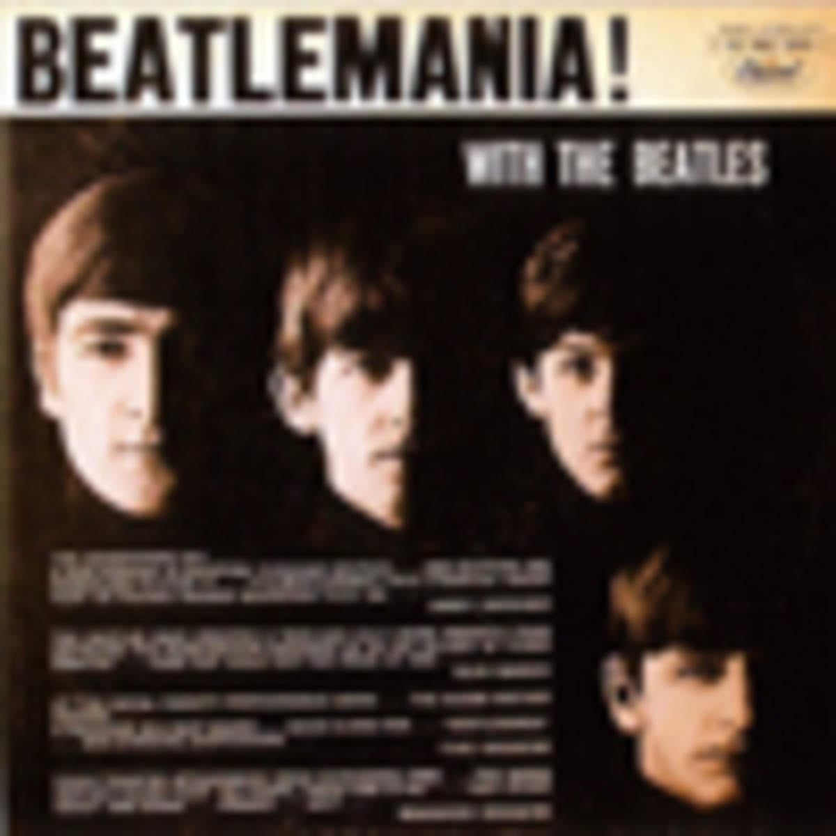 The Beatles Beatlemania With The Beatles