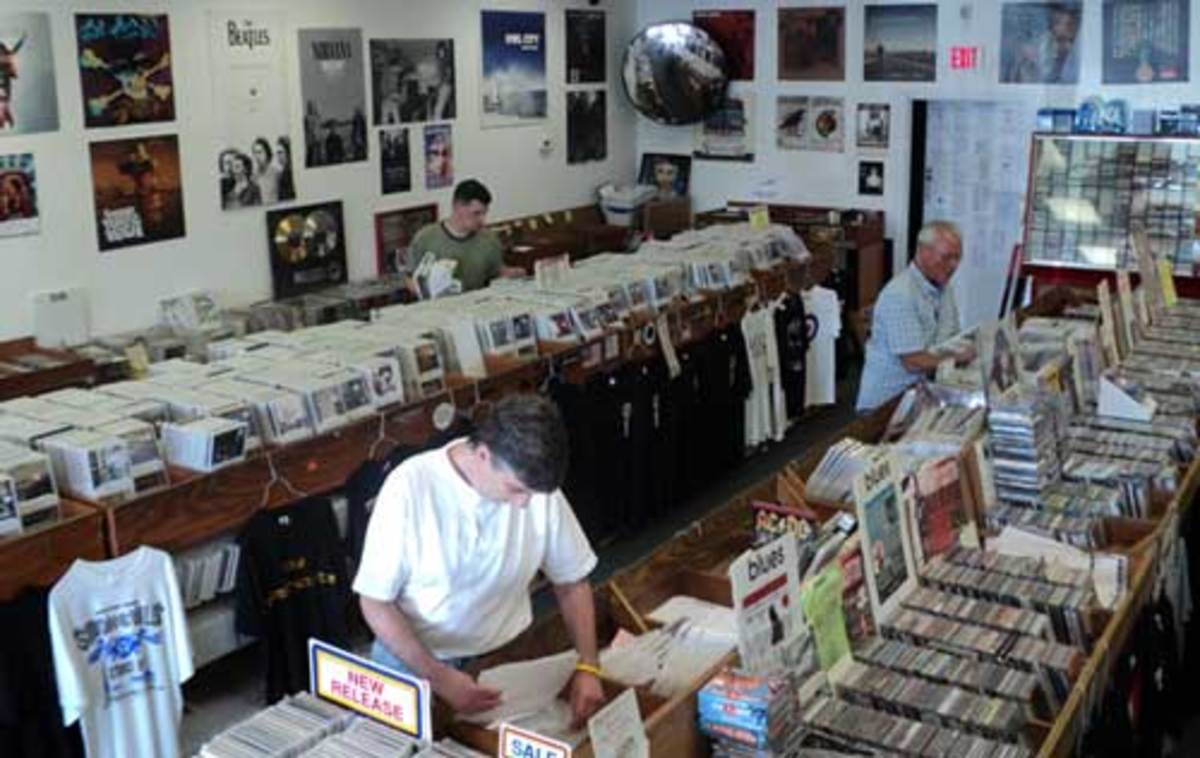 FROM THE BEATLES TO THE BLUES, Birdland Records offers customers a feast of music. Photo courtesy Birdland Records