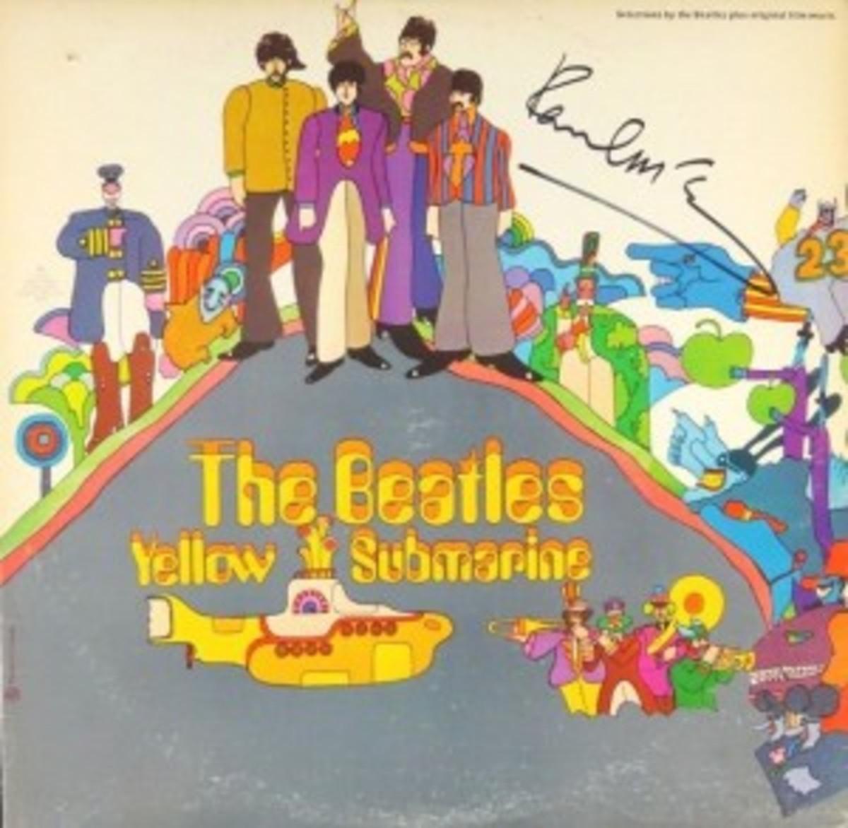 beatles-yelllow