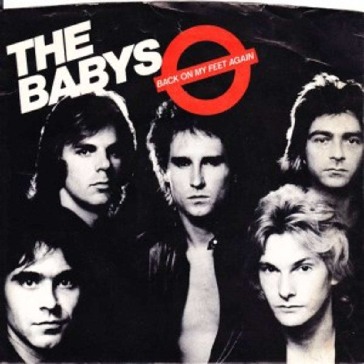 The Babys Back on My Feet Again picture sleeve