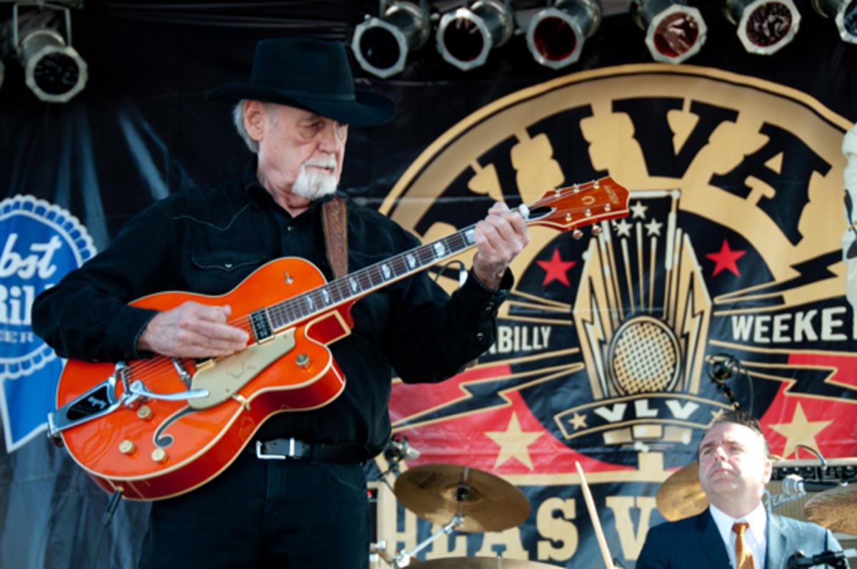Duane Eddy performs at Viva Las Vegas Rockabilly Weekend