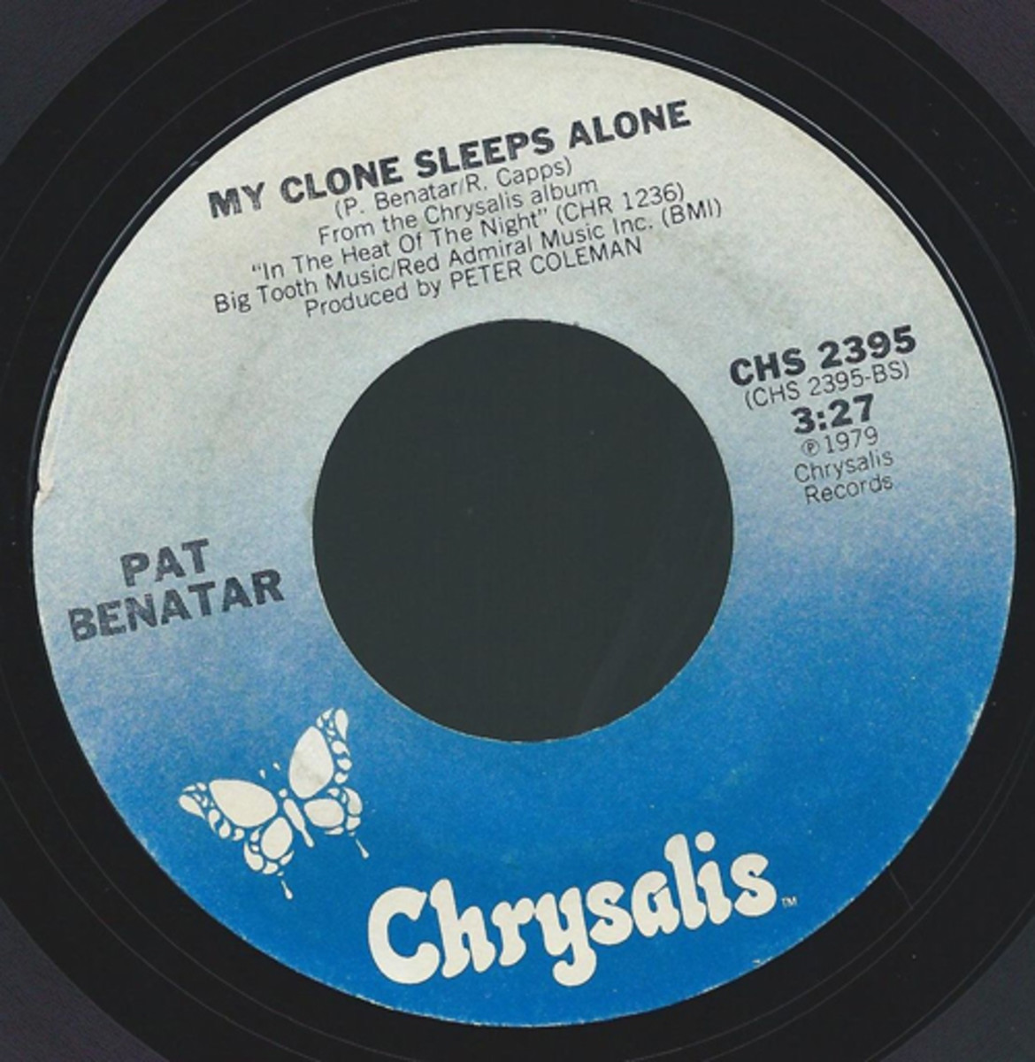 Pat Benatar flip side