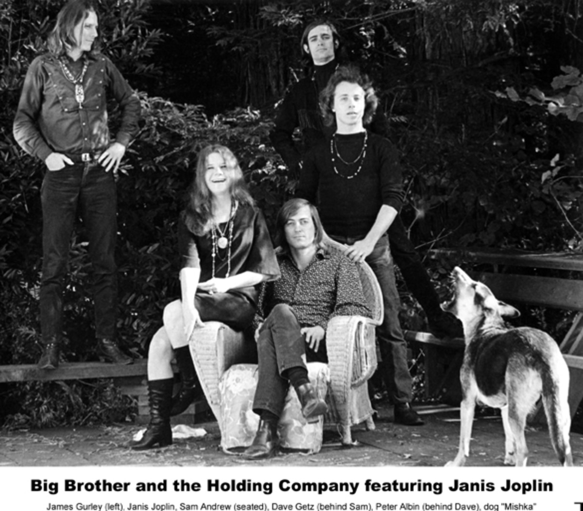 Janis Joplin Big Brother Carousel
