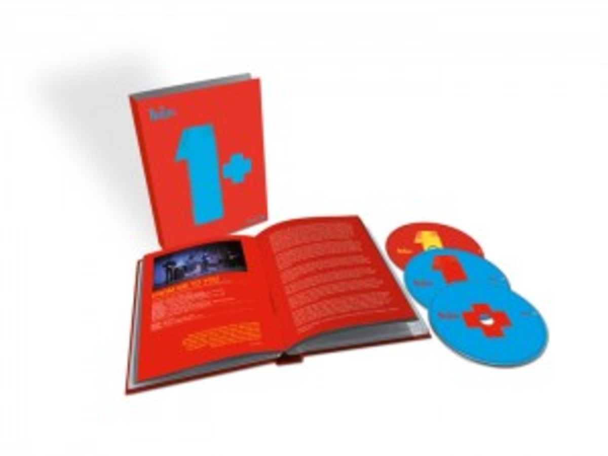 """The Beatles 1+"" multi-DVD/set."