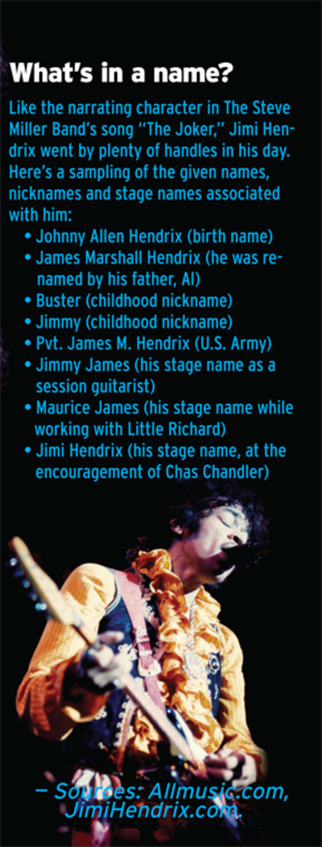 Jimi Hendrix Nicknames