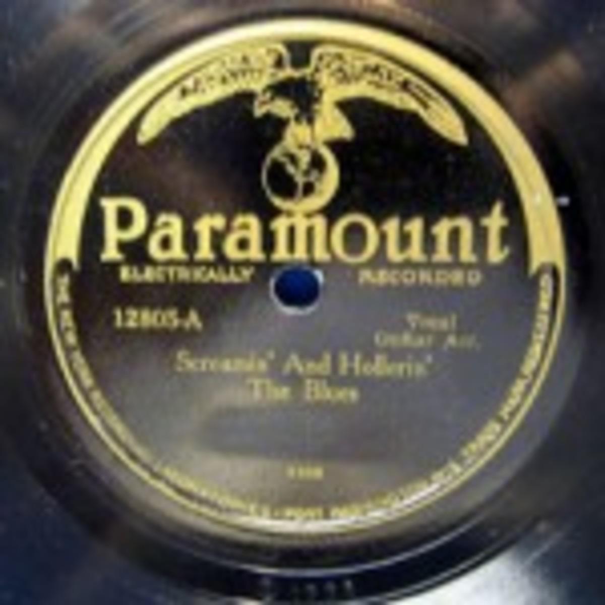 Charley Patton Paramount 12805