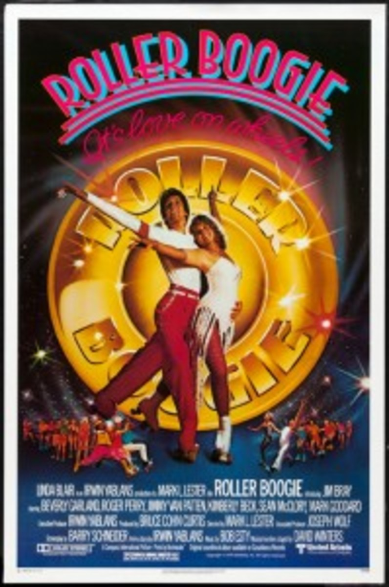 Roller Boogie Linda Blair movie poster