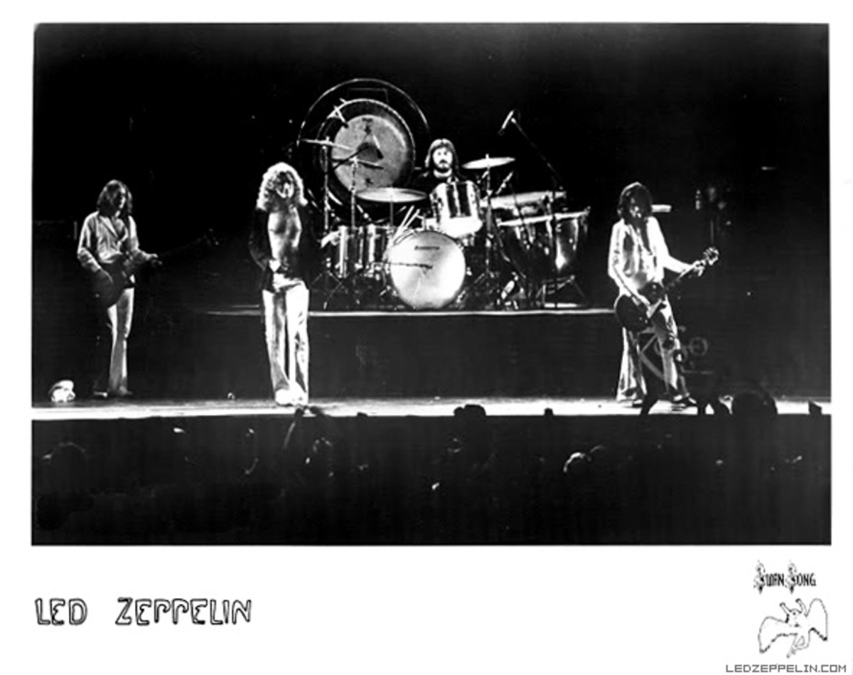 Led Zeppelin publicity photo courtesy LedZeppelin.com