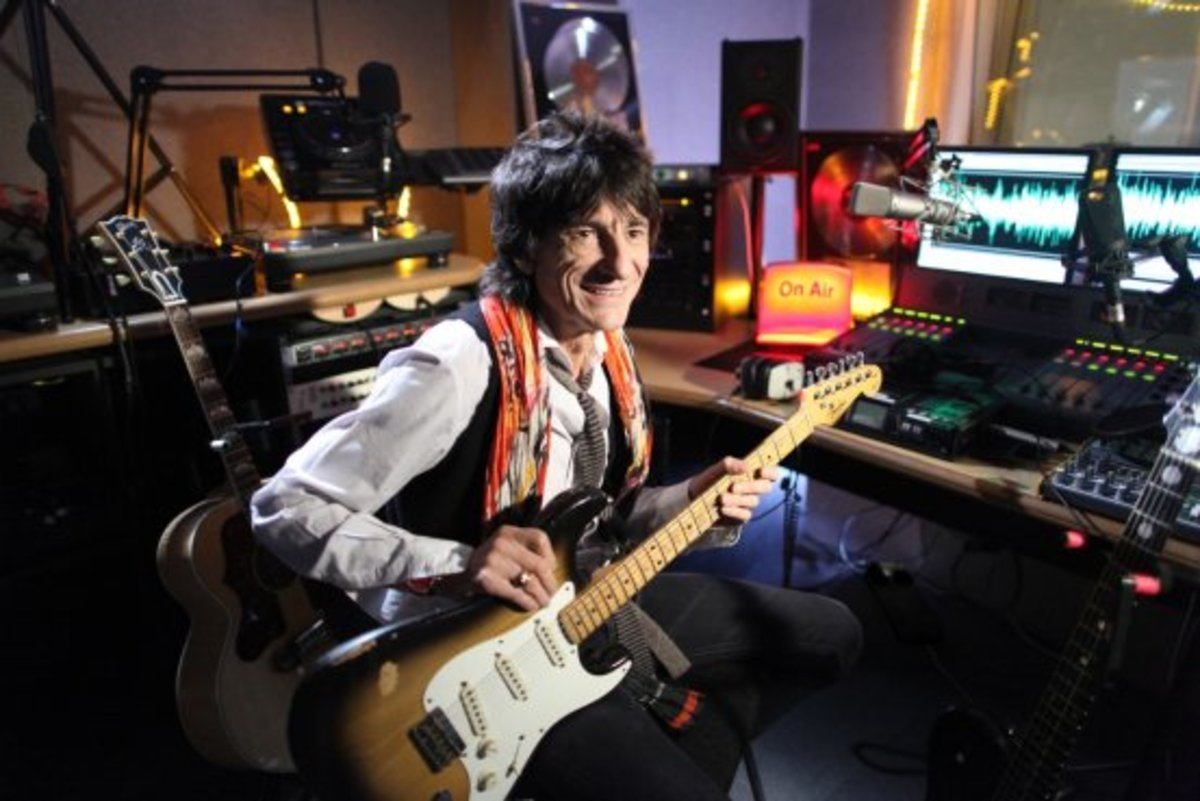 Ron Wood's radio show is available for on-demand listening on the show's Web site.